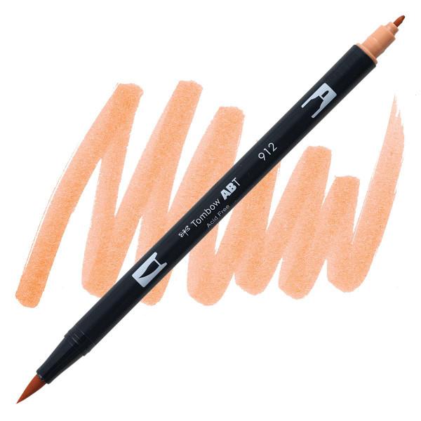Pale Cherry (912), Tombow Dual Brush Pens - 085014566063