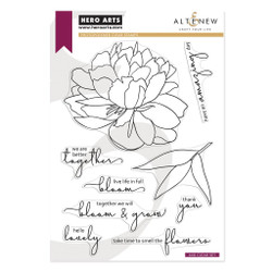 Bloom & Grow, Hero Arts & Altenew Clear Stamps -