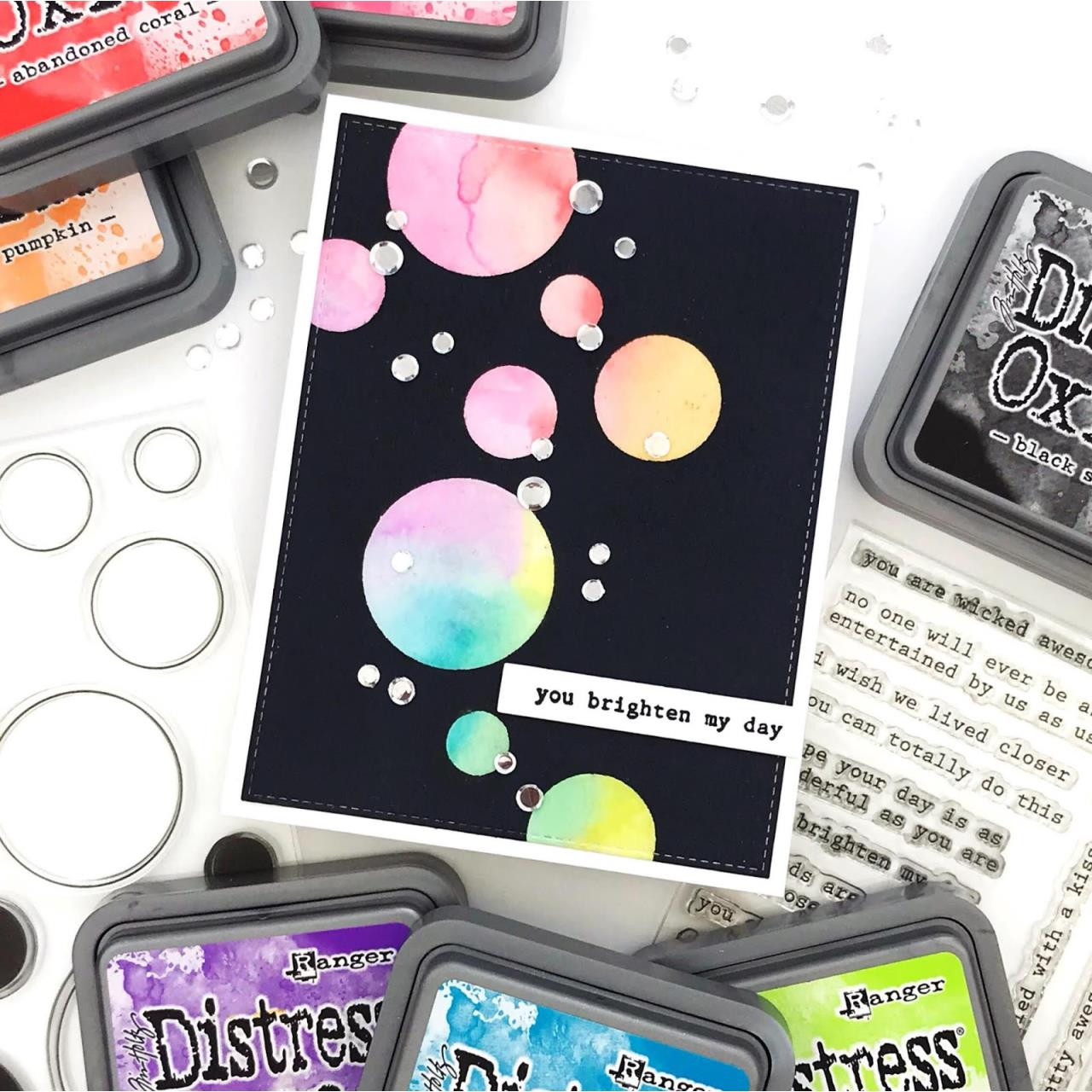 Circular, Neat & Tangled Clear Stamps -