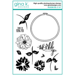 You Being You, Gina K Designs Clear Stamps - 609015540657