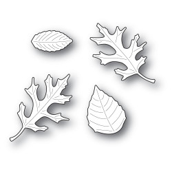 Autumn Leaf Set, Poppystamps Dies -