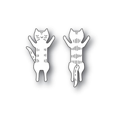 Whittle Jumping Kitty, Poppystamps Dies -