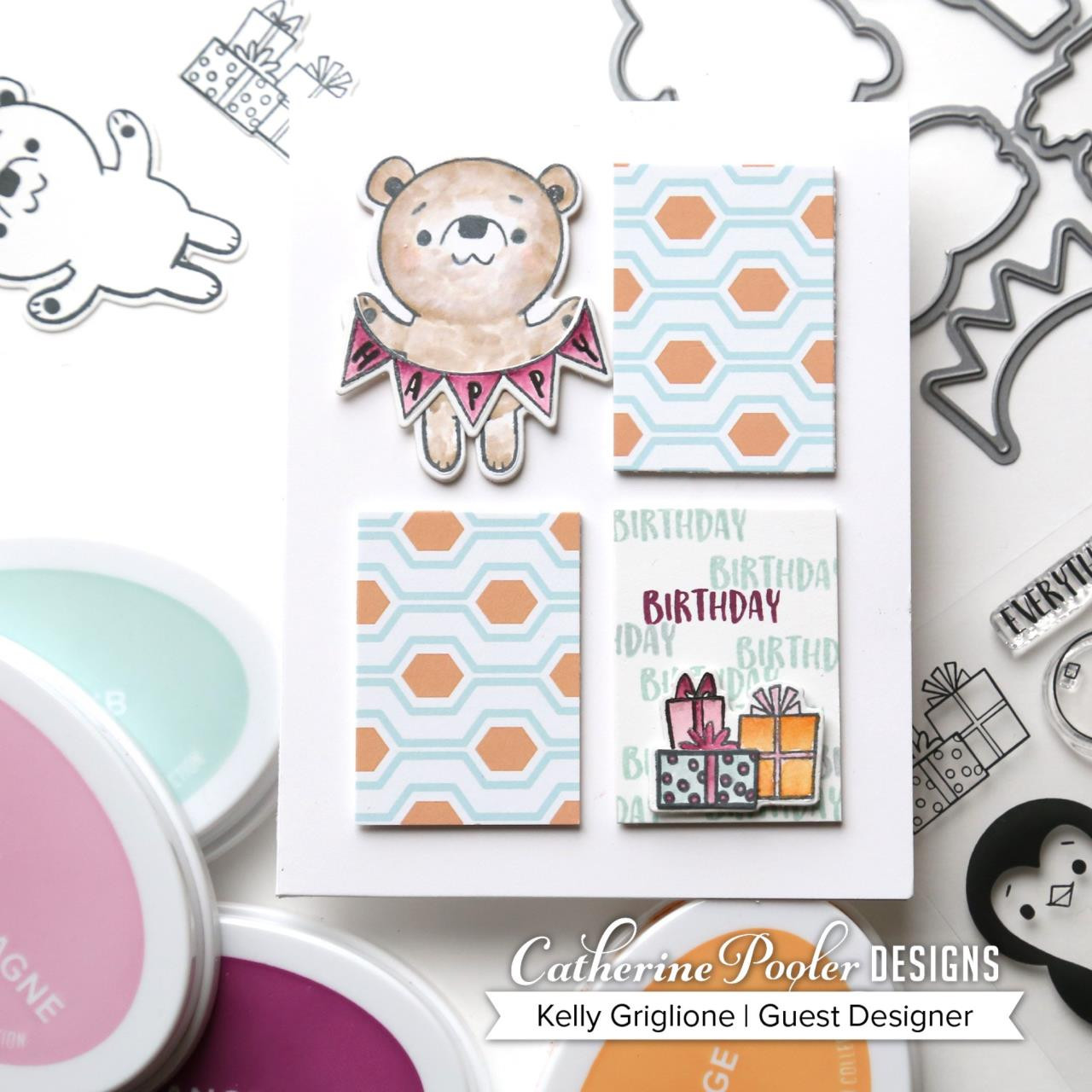 Feeling Chilly, Catherine Pooler Patterned Paper - 819447025220