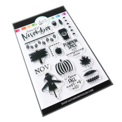 Howdy November, Catherine Pooler Clear Stamps - 819447025466