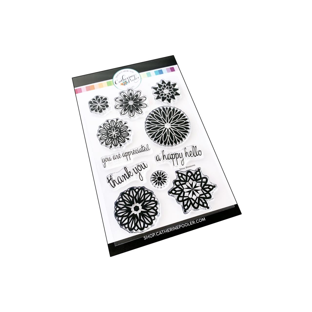 Frosted Blossoms, Catherine Pooler Clear Stamps - 819447025473