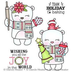 Joy In The World, Darcie's Clear Stamps -