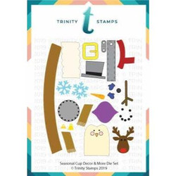 Seasonal Cup Décor And More, Trinity Stamps Dies -