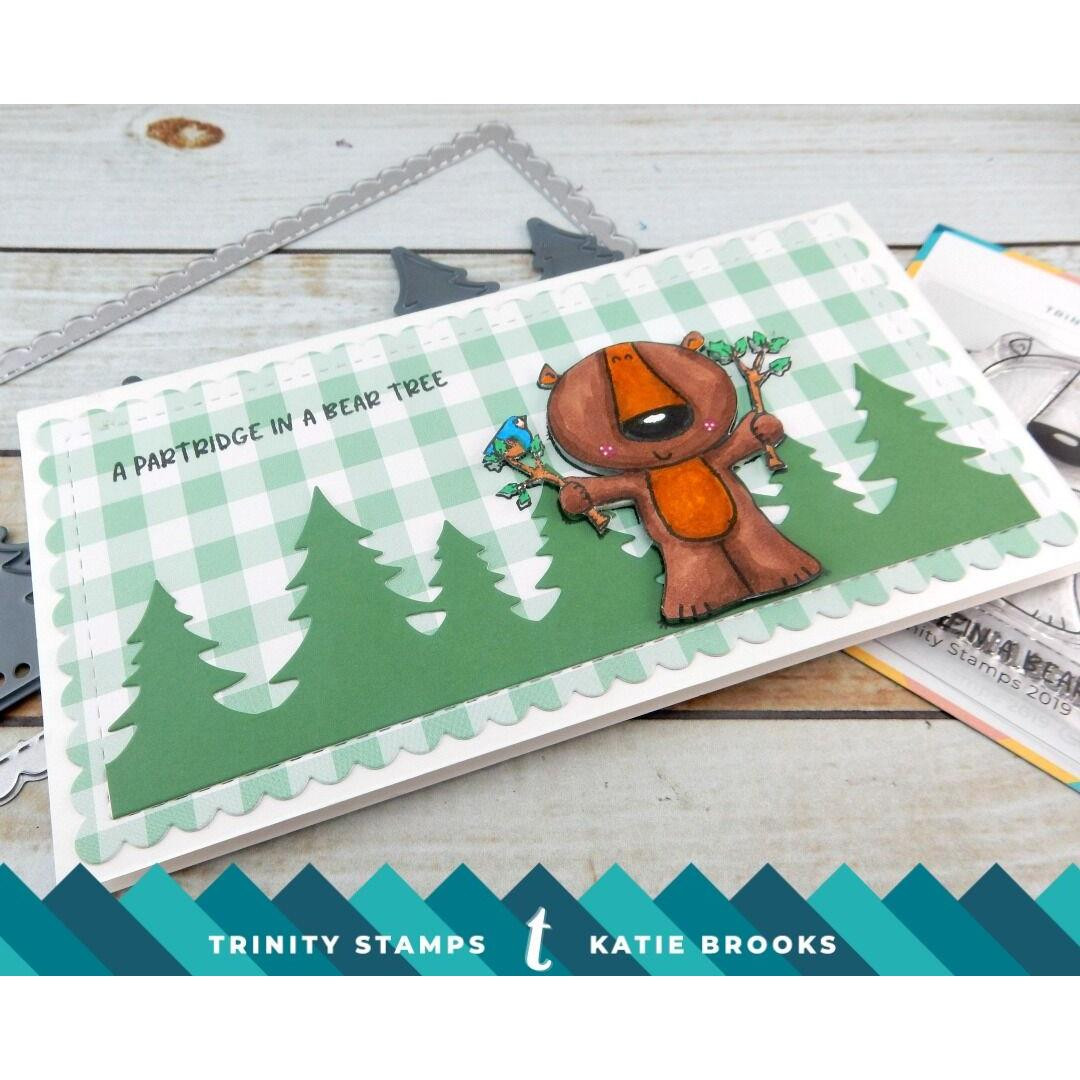 Bear Tree, Trinity Stamps Clear Stamps -