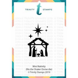 Mini Nativity Die Set, Trinity Stamps Dies -