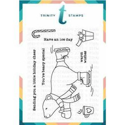 Have An Ice Day, Trinity Stamps Clear Stamps -