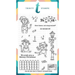 Do Re ME OW, Trinity Stamps Clear Stamps -
