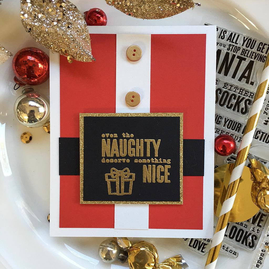 Snarky Christmas Messages, Hero Arts Clear Stamps - 085700924566