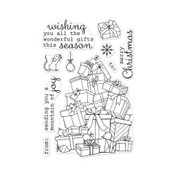 Mountain of Joy, Hero Arts Clear Stamps - 085700924535