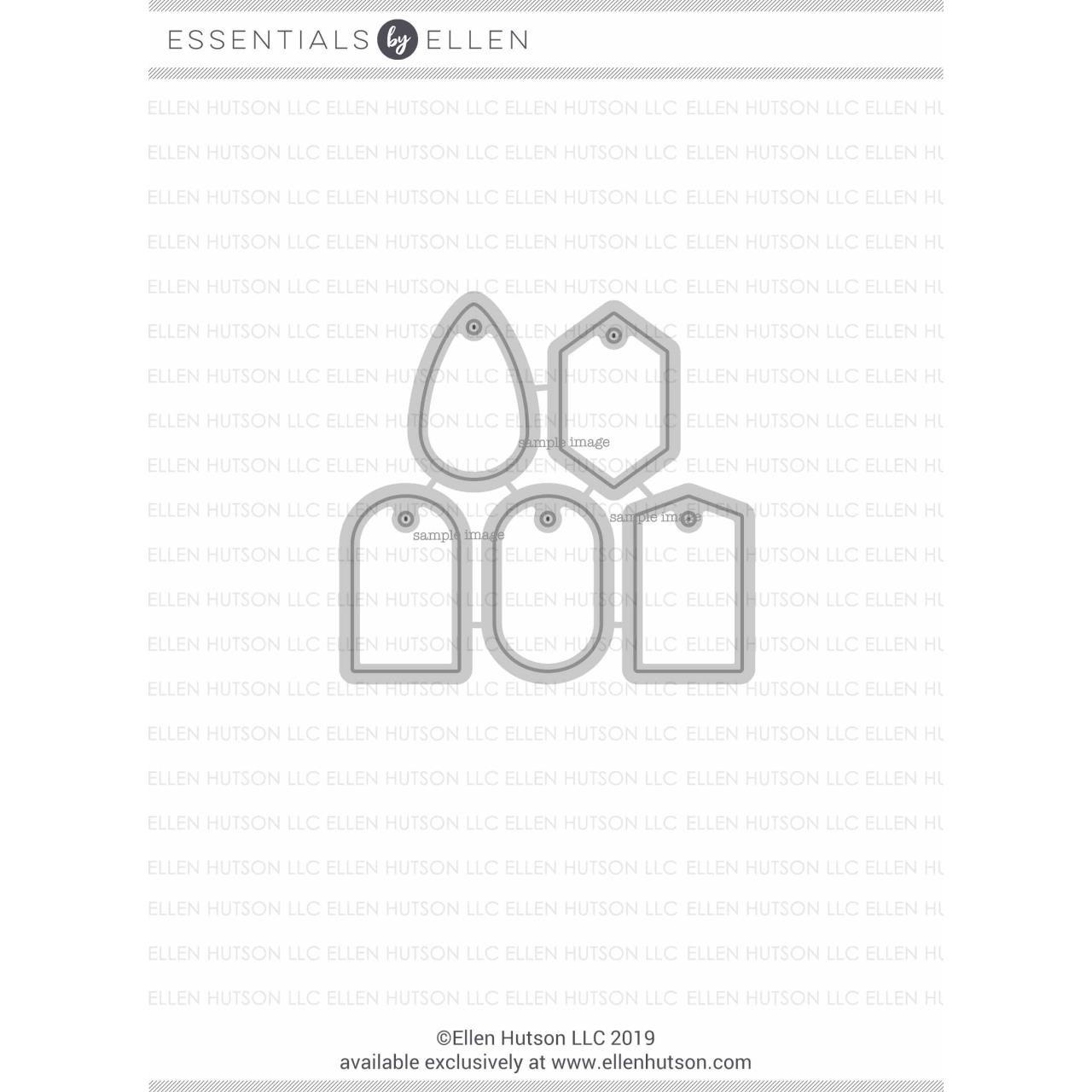 Mini Tags, Essentials By Ellen Designer Dies -