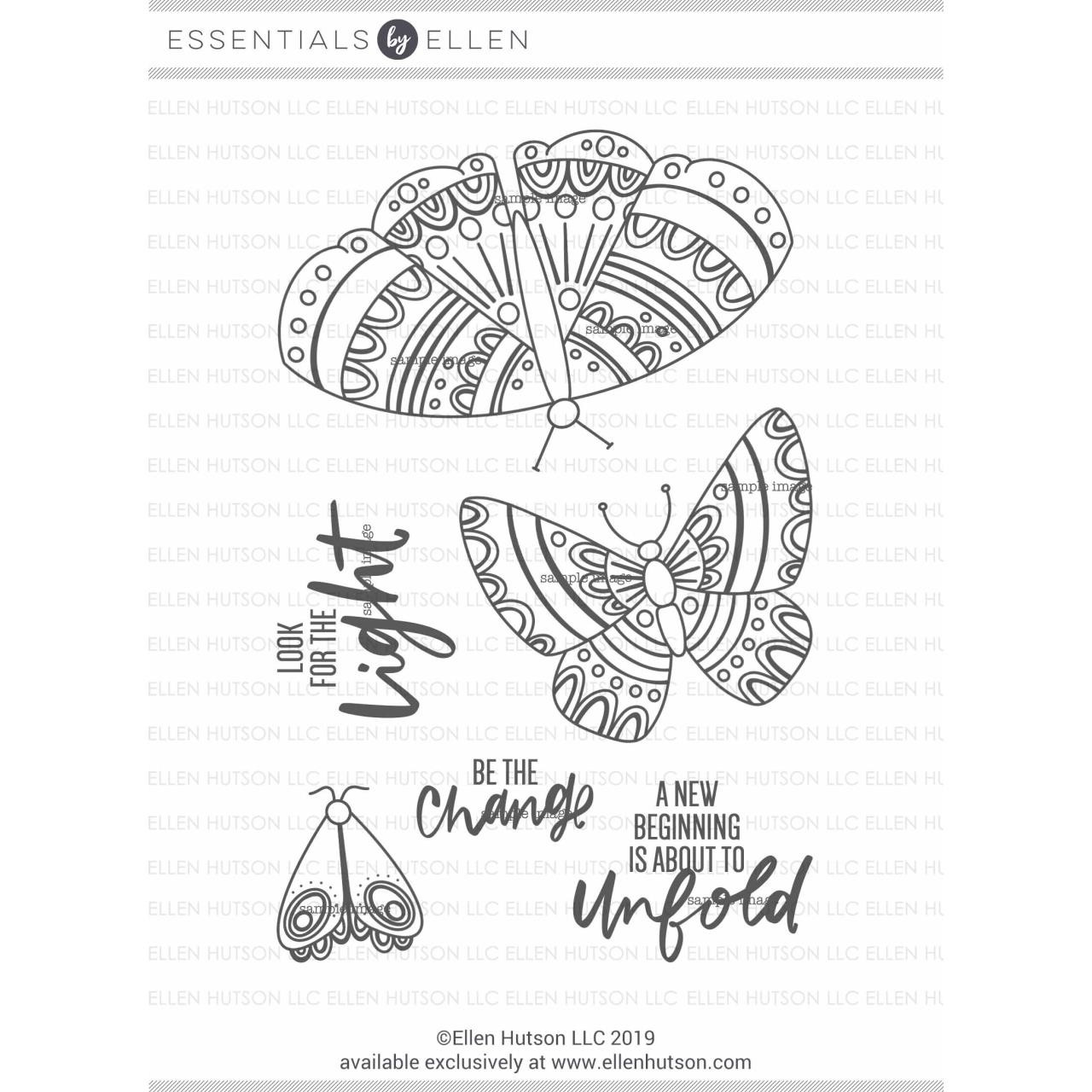 Be The Change by Brandi Kincaid, Essentials By Ellen Clear Stamps -