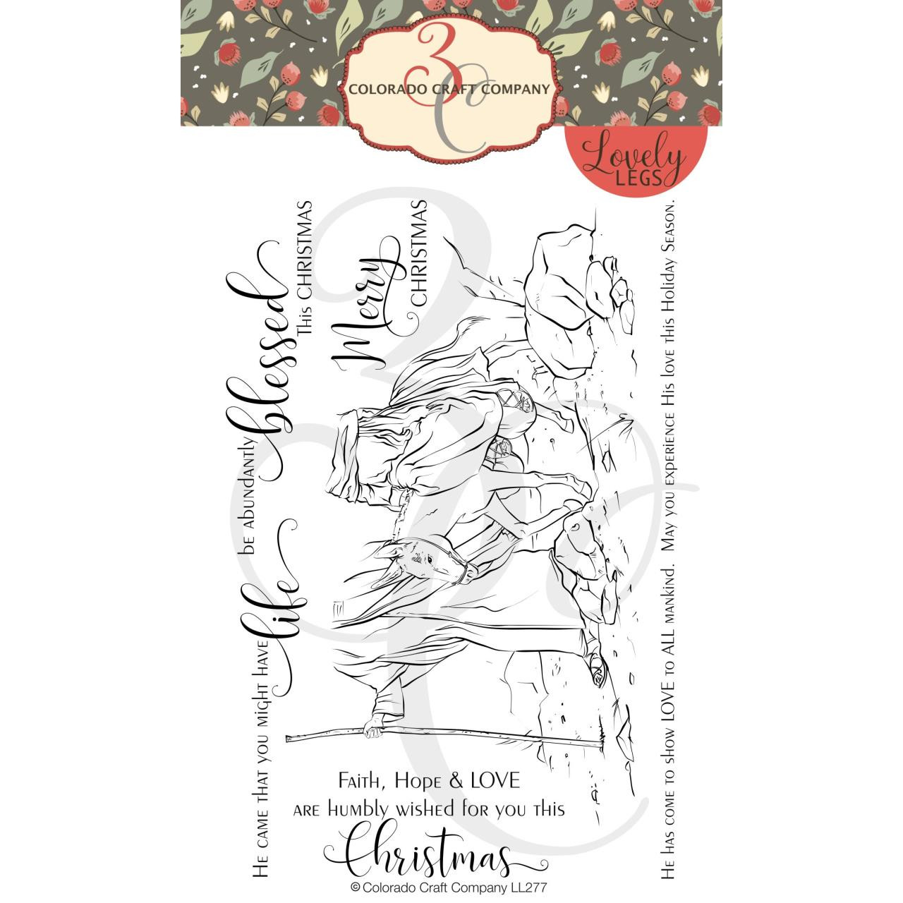 Small One, Colorado Craft Company Clear Stamps - 857287008775