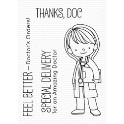 Doctor's Orders By Birdie Brown, My Favorite Things Clear Stamps - 849923033043