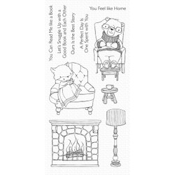 Cozy Companions, My Favorite Things Clear Stamps - 849923033111