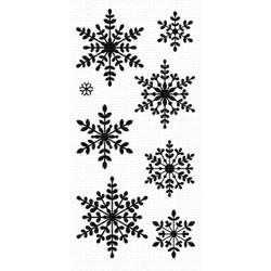 Serene Snowflakes, My Favorite Things Clear Stamps - 849923033074