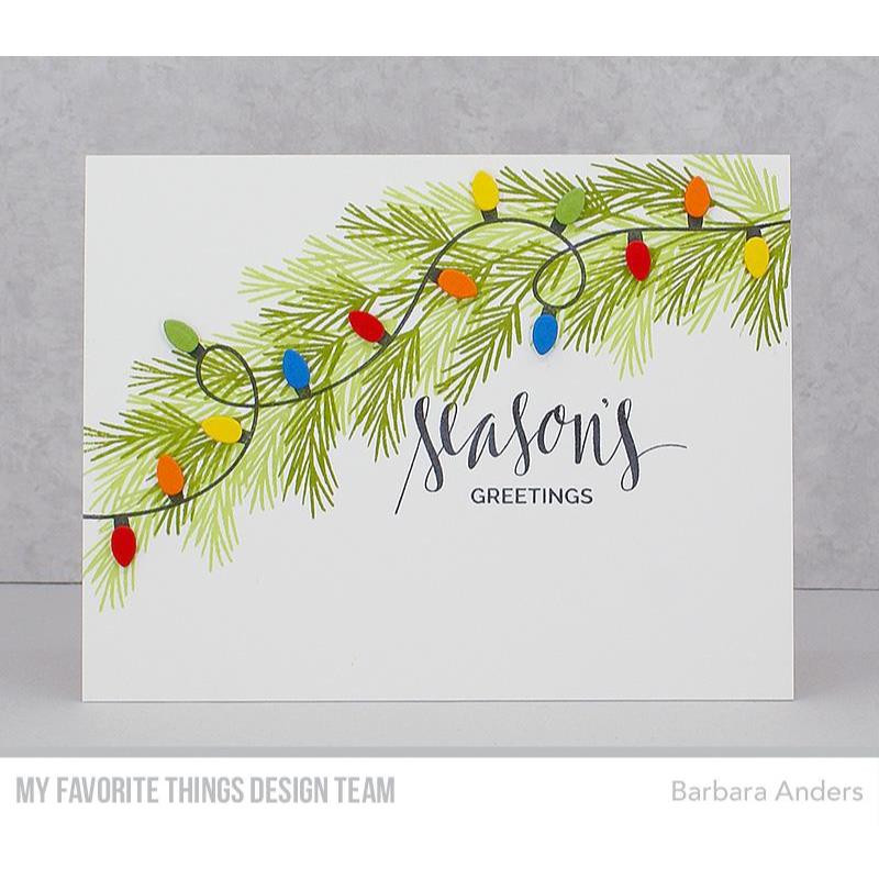 Party Lights, My Favorite Things Clear Stamps - 849923033159