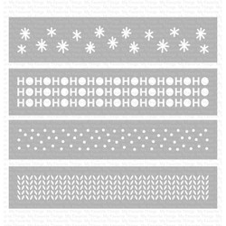 Winter Stencil Strips, My Favorite Things Stencils - 849923033166