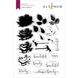 Classic Beauty, Altenew Clear Stamps - 737787256251