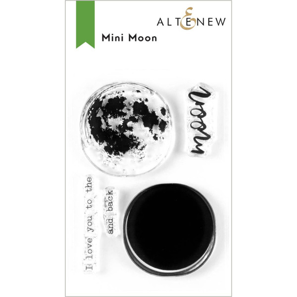 Mini Moon, Altenew Clear Stamps - 737787256343