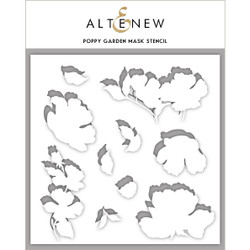 Poppy Garden, Altenew Mask Stencil - 737787256442