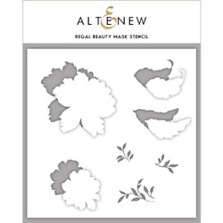 Regal Beauty, Altenew Mask Stencil - 737787256527