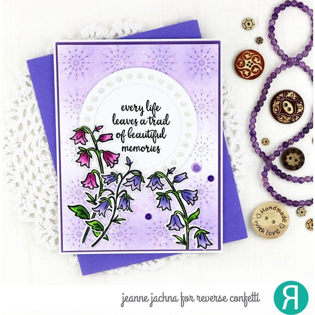 Beautiful Memories, Reverse Confetti Cuts -