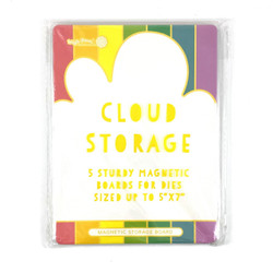 Cloud Storage Magnetic Boards, Waffle Flower Tools -