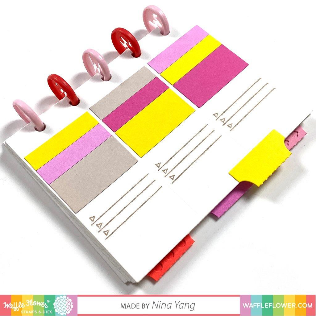 Color Combos A2 Panel, Waffle Flower Dies -