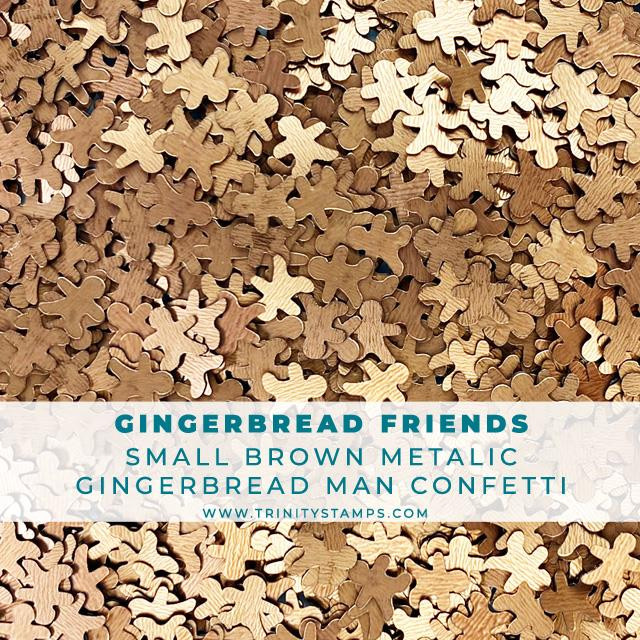 Gingerbread Friends, Trinity Stamps Embellishments -