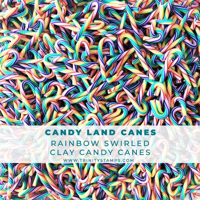 Candy Land Canes, Trinity Stamps Embellishments -