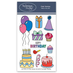 Let's Party, Technique Tuesday Clear Stamps - 811784024638