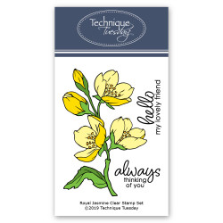 Royal Jasmine, Technique Tuesday Clear Stamps - 811784028100