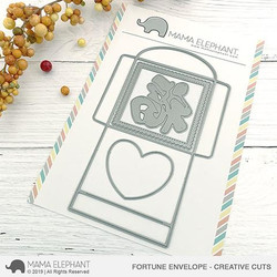 Fortune Envelope, Mama Elephant Creative Cuts -