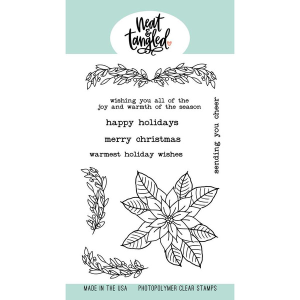 Classic Christmas, Neat & Tangled Clear Stamps -