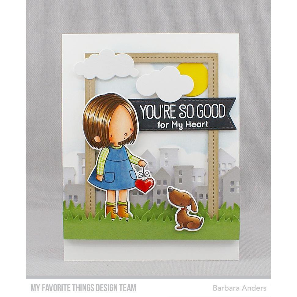 You Have My Heart by Birdie Brown, My Favorite Things Clear Stamps - 849923033005