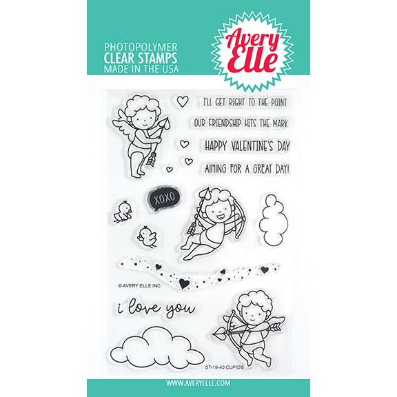 Cupids, Avery Elle Clear Stamps - 811568028180