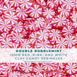 Double Bubblemint, Trinity Stamps Embellishments -