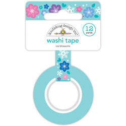 Ice Blossoms, Doodlebug Washi Tape -