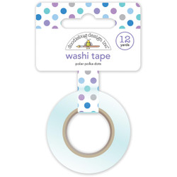 Polar Polka Dots, Doodlebug Washi Tape -
