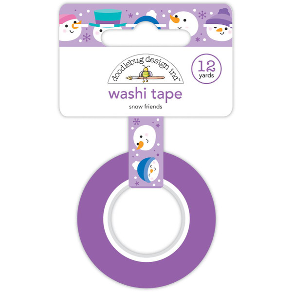 Snow Friends, Doodlebug Washi Tape -