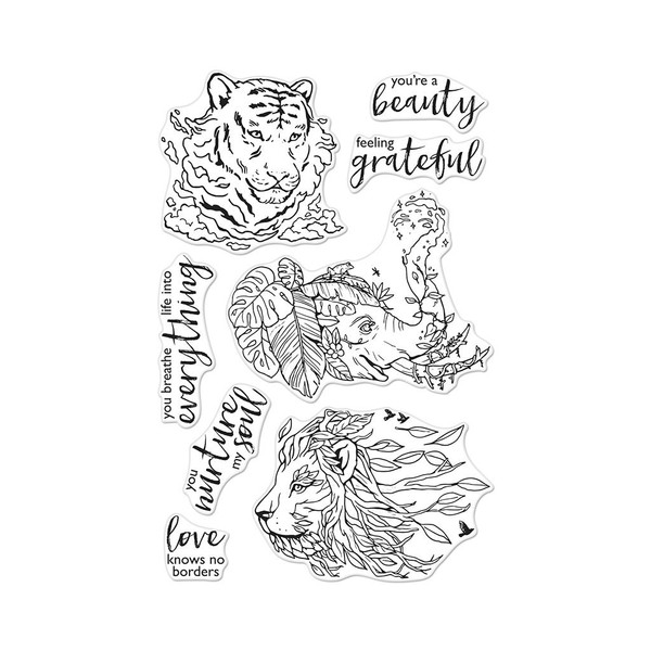 Nature's Beauty, Hero Arts Clear Stamps - 085700924870