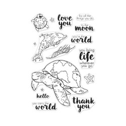 Carry the World, Hero Arts Clear Stamps - 085700925013
