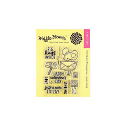 Sending Love, Waffle Flower Clear Stamps - 644216569526