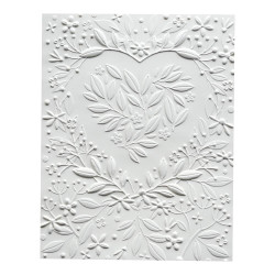 Heart Bouquet 3D, Memory Box Embossing Folder - 873980310069