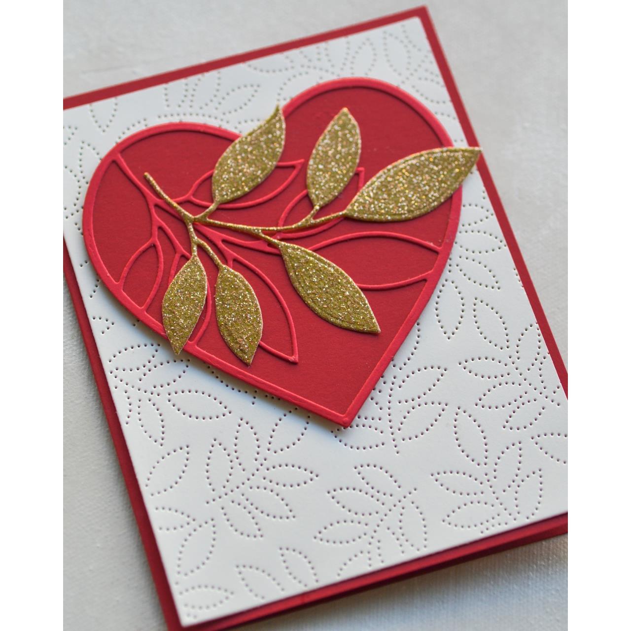 Pinpoint Leaf Plate, Memory Box Dies - 873980943816