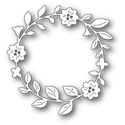 Bellflower Circle Wreath, Memory Box Dies - 873980943694